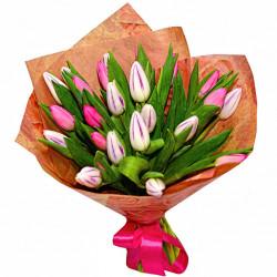 Букет «25 тюльпанов»